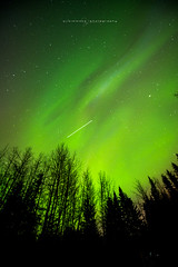 ISS Fly By (seanajsimmons) Tags: canada color colour jasper alberta northernlights auroraborealis jaspernationalpark darksky travelalberta nightskyphotography ajsimmonsphotography