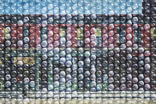 Bubble Wrap Hopper