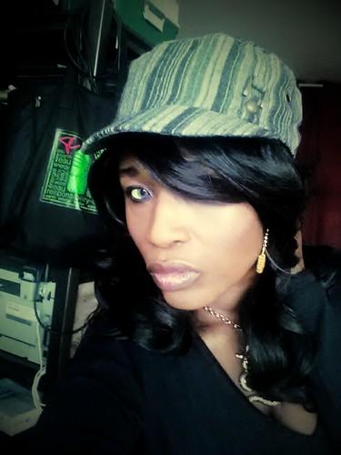 sabine mondestin with hat