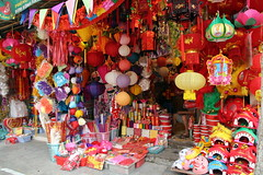 Party goods street (Bex.Walton) Tags: travel streetscene vietnam hanoi oldquarter