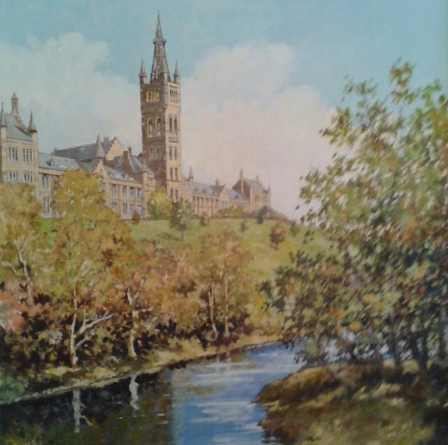 Russell Irvine 'Glasgow University'