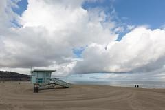 Torrance Beach  -29   3341 (Katbor) Tags: clouds lifeguardtower torrancebeach