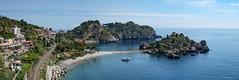 Isola Bella (gRom62) Tags: sea panorama nature landscape mare ngc natura bella taormina sicilia paesaggio isola