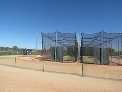 Batting Cages at Surprise Stadium -- Surprise, AZ, March 09, 2016 (baseballoogie) Tags: arizona canon baseball stadium az powershot surprise ballpark springtraining royals kansascityroyals cactusleague baseballpark surprisestadium 030916 sx30is canonpowershotssx30is baseball16