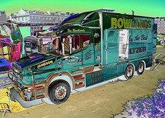 Rowlands Re-work (Sir Hectimere) Tags: fairgrounds heavyhaulage