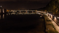 Toulouse by night (Matt H. Imaging) Tags: matthimaging night toulouse river bridge konicaminolta dimagea2 dimage a2