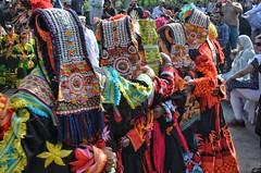 The Kalasha enjoying the annual Chilimjusht Festival (Emaad Paracha) Tags: festival fort top pass mosque valley mir dir kalash shahi mardan chitral malakand lowaripass lowari terich bumburet lowaritop timergara chilimjusht