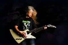 Storm Gathering (Studio d'Xavier) Tags: portrait musician rockroll guitarist strobist marynellhardin