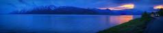 Tetons at dusk (mandar245) Tags: grandteton landscape nationalpark nature spring travel wyoming sunset dusk bluehour serenity grandtetonnationalpark