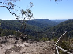 Lookout opposite Gwongorella Parade, Springbrook. (tanetahi) Tags: winter june lookout queensland belvedere springbrooknationalpark scenicrim