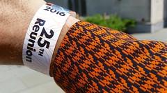 25th Reunion Wristband (Joe Shlabotnik) Tags: cameraphone princeton wristband reunions 2016 princetonuniversity princetonreunions galaxys5 may2016 reunions2016