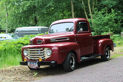 1950 Ford pickup F1 (Davydutchy) Tags: auto show classic netherlands car automobile tour ride rally nederland voiture bil vehicle oldtimer frise paysbas friesland clasico niederlande klassiker joure klassiek frysln pkw frisia vetern automobiel vroem dejouwer vroem2016