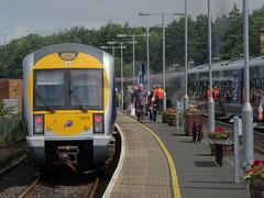 Waterside Station, 21st of June 2016 (nathanlawrence785) Tags: station train track rail railway class steam special londonderry ni translink railways 3000 caf waterside derry 3003 nir dm2 dmu rpsi c3k