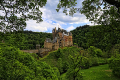 Burg Eltz, (1 of 3), Germany (louelke - home again) Tags: castle architecture wow germany burgeltz towers structures fortress middleages
