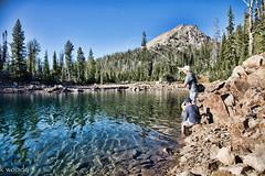 Flyfishing Idaho Backcountry (boysoccer3) Tags: camping arizona fish fishing colorado uintas hiking idaho backcountry flyfishing wyoming trout rei cabelas cutthroat rainbowtrout sawtooths brooktrout windrivers