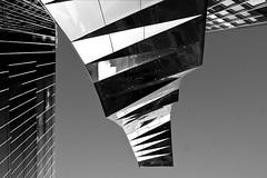 Paisatge urb 2 (gemmagrau) Tags: barcelona sky bw white black building