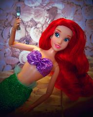 #dinglehopper (partymonstrrrr) Tags: ariel toy toys doll dolls disney mermaid littlemermaid disneystore dinglehopper partofyourworld