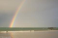 Temps Breton (Remnaeco35) Tags: en mer pentax arc ciel couleur saintmalo k5