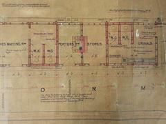 Uppingham Train Station plans