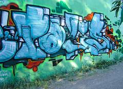 Alme // Cologne (Bombendrohung) Tags: writing graffiti coconut cologne style köln thermo halloffame graffitiart pokus handstyle alme