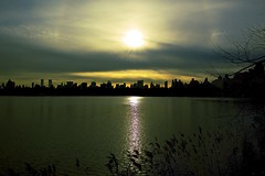 Winter by the pond (Litratistica Images NYC) Tags: nyc newyorkcity sunset lake water skyline landscape pond cityscape centralpark silhouettes goldenhour earldolphy litratisticaimages cherrydolphy