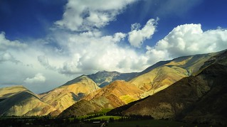 Clouds in Elqui Valley