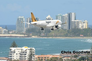 Tiger Airways A320 Coolangatta