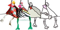 vdm-hendl11 (atelier MtR) Tags: chicken huhn bags taschen tschchen kulturbeutel kosmetiktschchen