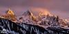 Coucher de soleil rosé sur les Aiguilles de Chamonix. (Jool CHX) Tags: montagne glacier neige nuage chamonix foret coucherdesoleil glace aiguillesdechamonix aiguilleduplan chainedumontblanc grandscharmoz aiguilledeblaitière 7dmarkii