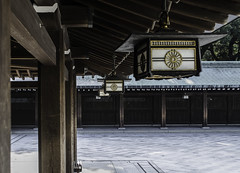 Meiji Shrine - Tokyo, Japan (inefekt69) Tags: park city travel japan tokyo nikon shrine religion buddhism 日本 nippon 東京 lantern tradition dslr tori torii nihon meiji d5100