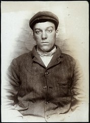 Thomas Foreman, arrested for breaking and entering a tobacconist's shop (Tyne & Wear Archives & Museums) Tags: portrait interesting historic criminal crime cap thief mugshot cigars unusual cigarettes theft policestation arrested stealing prisoner northshields imprisoned tobacconist northtyneside bedfordstreet breakingandentering