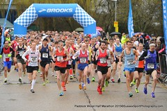 ​Start of the Brooks Paddock Wood Half Marathon 2015