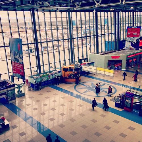 Hello! Vladivostok! #Travel #Vladivostok #Russia #Владивосток #Airport ©  IchStyle