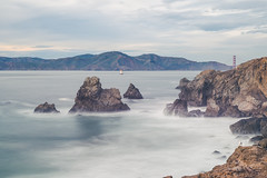 Ocean Beach, CA (bguilas21) Tags: ocean california ca bridge mountains beach water cali golden landscapes nikon gate san francisco rocks long exposure pacific 10 full stop filter frame nd beaches filters northern tamron vc f28 density neutral 2470mm d610