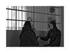 Jail n° 5 (Franco & Lia) Tags: sardegna blackandwhite sardinia noiretblanc prison jail biancoenero jailhouse prigione carcere tempiopausania larotonda visitingroom parlatorio