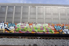 Swer (Revise_D) Tags: graffiti graff freight revised 1810 frf fr8 bsgk benching swerv fr8heaven fr8aholics benchingsteelgiants