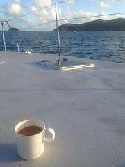 Café matinale. La grosse vie sale!