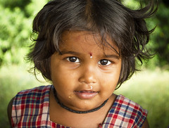 Innocence (Well-Bred Kannan (WBK Photography)) Tags: portrait india girl kid eyes nikon child faces indian portraiture chennai kiddies kannan wellbred nikond3200 wbk weekendwalk kumizhi wbkphotography kannanmuthuraman