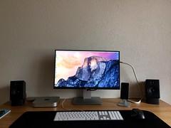 Setup #03 (Gaetan682) Tags: 6 apple dock mac support bureau like mini follow macmini dell setup a2 logitech iphone hirise 2014 audioengine 2015 favoris iphone6 twelvesouth 64go mxperformance u2515h