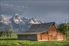 T.A Moulton Barn - Grand Teton National Park, Wyoming (helikesto-rec) Tags: barn grandtetons tetons moulton grandtetonnationalpark mormonrow tetonnationalpark mormonbarn