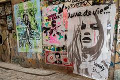 Konny & Mimi the Clown (dprezat) Tags: street urban paris art painting stencil nikon tag graf peinture aerosol sarkozy bombe d800 pochoir konny steding mimitheclown nikond800 shootthebank