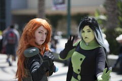 Kim Possible from the Disney Channel (blind7snow) Tags: photography nikon cosplay disney cosplayer conventions kimpossible wondercon disneychannel shego nikonphotography d700 nikond700 cosplayphotography wonderconanaheim wondercon2015
