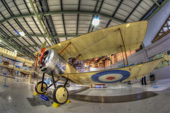 Sopwith Pup N6452, Fleet Air Arm Museum, Yeovilton (jim_2wilson) Tags: aircraft planes hdr fleetairarm yeovilton jimwilson sonya77 rokinon8mmf35