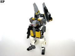 EVCS-021C Aardwolf Experimental High-Speed Type (ExclusivelyPlastic) Tags: design robot lego military figure scifi mecha mech gundamish