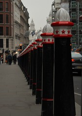 Soldiers (phoebe.horner) Tags: city red bus london st speed canon buildings cityscape slow cathedral time pigeon pauls shutter lapse 400d