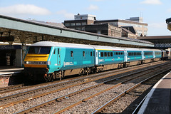 Arriva Wales 82306 on 1V91 Holyhead to Cardiff at Newport (Tug60044) Tags: wales train photo flickr south central cardiff picture rail railway trains class newport passenger skip railways 67 82 dvt holyhead 82306 67022 1v91