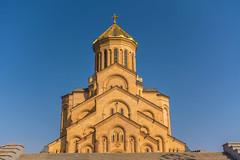 Architecture (malc1702) Tags: travel sky holiday building church architecture georgia bluesky landmark tbilisi placeofworship colorsinourworld nikond7100 nikkor18140mm