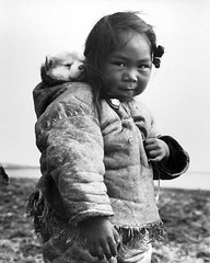 A young Inuit girl and her husky dog, 1949. [650X810] #HistoryPorn #history #retro http://ift.tt/1Ue8gb2 (Histolines) Tags: dog history girl husky young her retro inuit timeline 1949 vinatage a historyporn histolines 650x810 httpifttt1ue8gb2