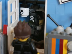 Gothic II 4 (jgg3210) Tags: new 3 television closet skull dawn costume alley comic apartment lego gothic before part ii comicbook superhero radiator ascent loh minifigure moc darkest leagueofheroes brickton