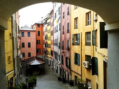 (Mikden *) Tags: old italy town liguria genova